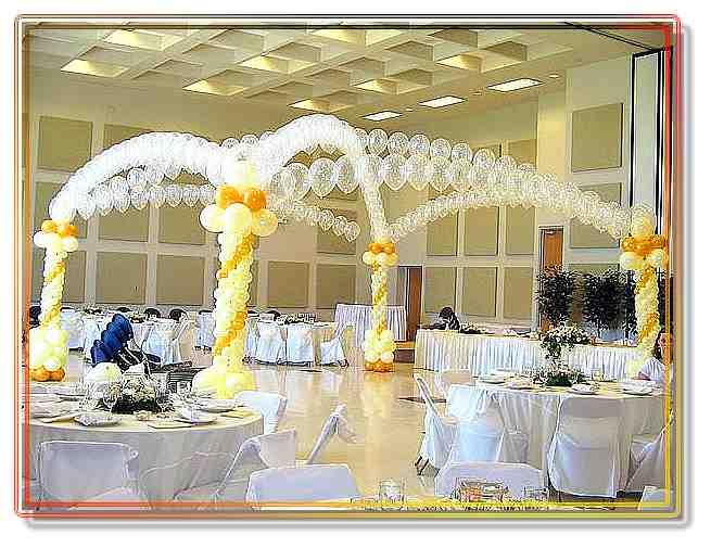 Свадьба...Оформление шарами, оформление свадеб, украшение зала для торжества,  гелевые шары и светящие шарики на свадьбу в Казани