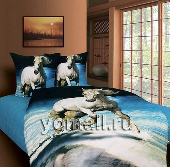 Лошади постельное белье с лошадьми, комплект белья в подарок