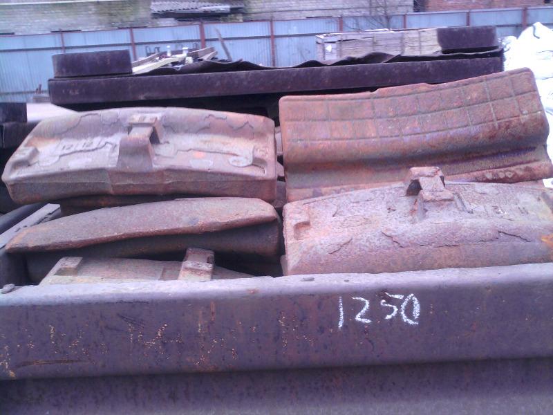 Колодка локомотивная гребневая тип М новая на складе.