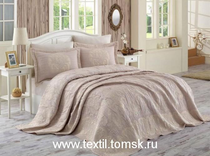 Dantela Vita двустороннее жаккардовое покрывало на кровать в спальню.