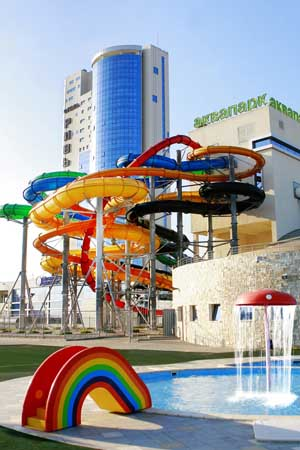 Туры в Казанский аквапарк