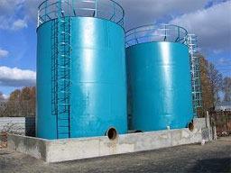 Резервуары стальные - производство и монтаж,