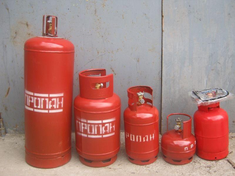 Баллон газовый 50 литров 20 кг в Барнауле