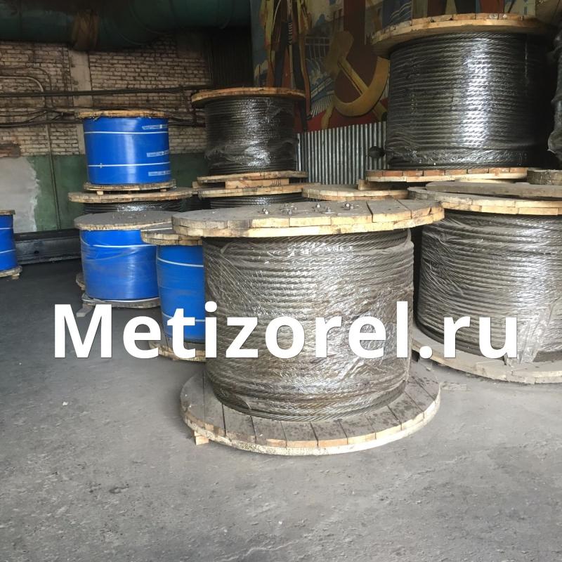 Грозотрос ТК35 ГОСТ 3063 80 ф 8,1 мм Г-В-С-Н-Р-Т 1770 оцинкованный