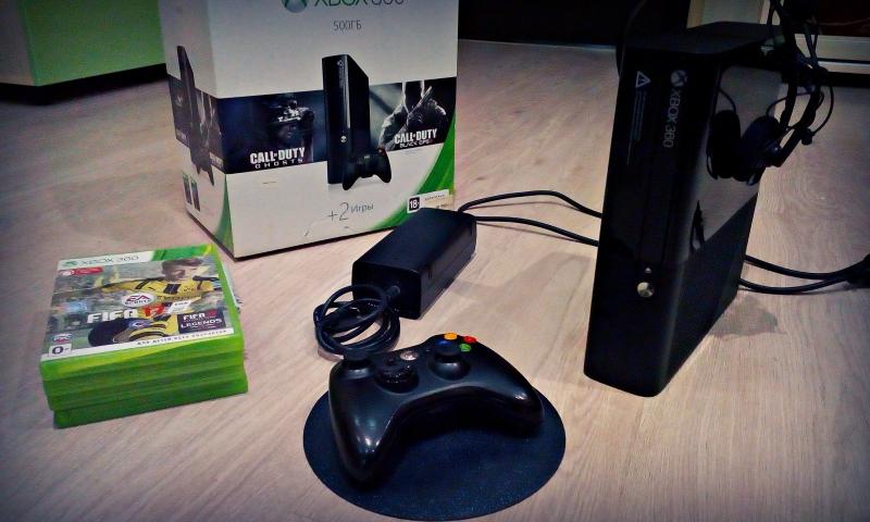 Консоль Xbox360 на 500 гб