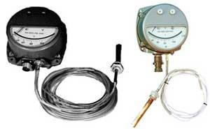 термосигнализатор  манометрический  Т К П - 160 СRМ2
