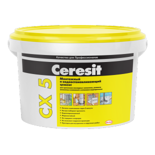 Ceresit СХ 5 Монтажный и водоостанавливающий цемент