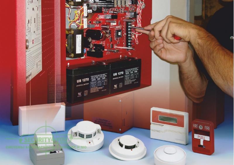Обслуживание и монтаж пожарной сигнализации