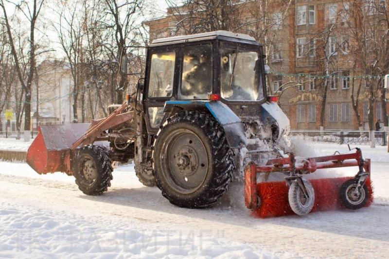 Вывоз снега Кировский район