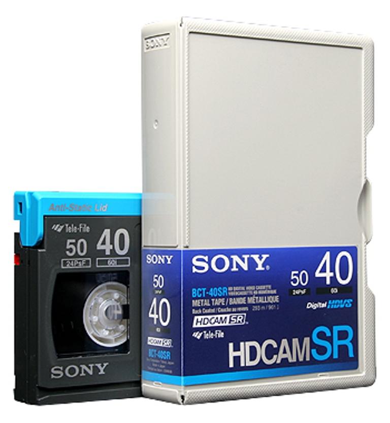 Видеокассеты HDCAM SR 40 min. SONY BCT-40SR новые чистые.