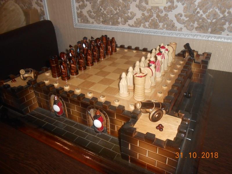 продам шахматы Крепость