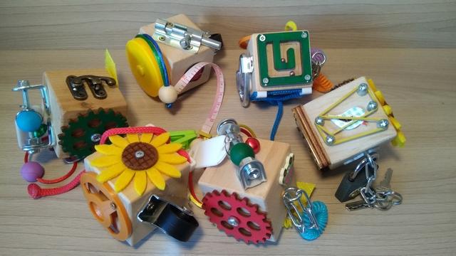 Мастерская развивающих игрушек Кубик-Зубик