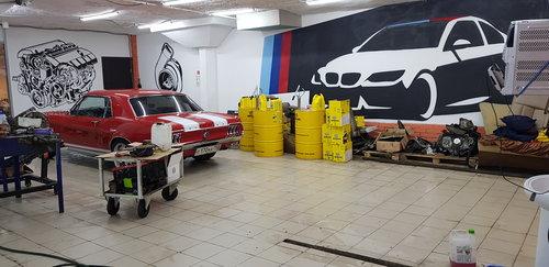 АвтоТех Центр AzbukaBMW автосервискузовные и малярные работыпленка тонировкадетейлинг