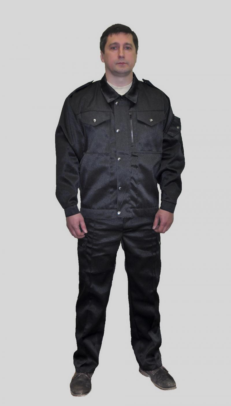 Изготовим костюмы охранника по доступным ценам