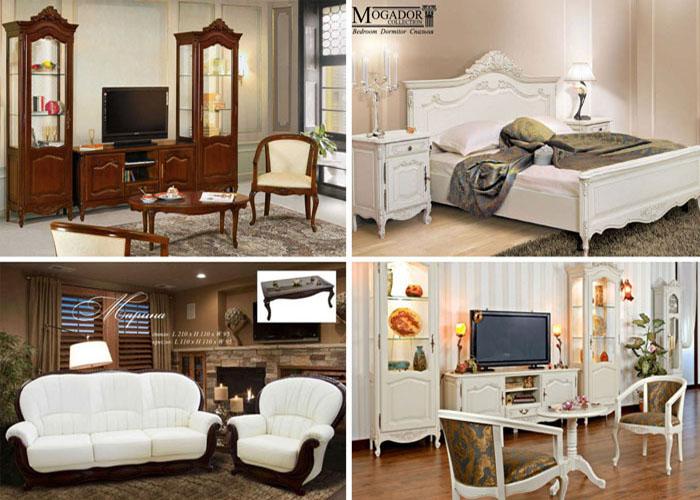 Гостиные и спальни в стиле Прованс в мебельном салоне Ренессанс