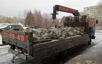 Грузоперевозки с открытым верхом до 5 тонн