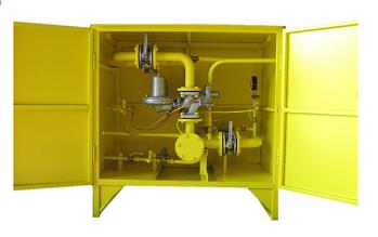 Пункт газорегуляторный шкафной ГРПШ-04-2У1
