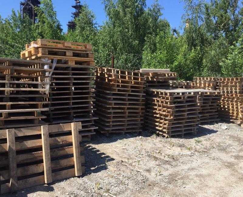 Продам поддоны деревянные бу