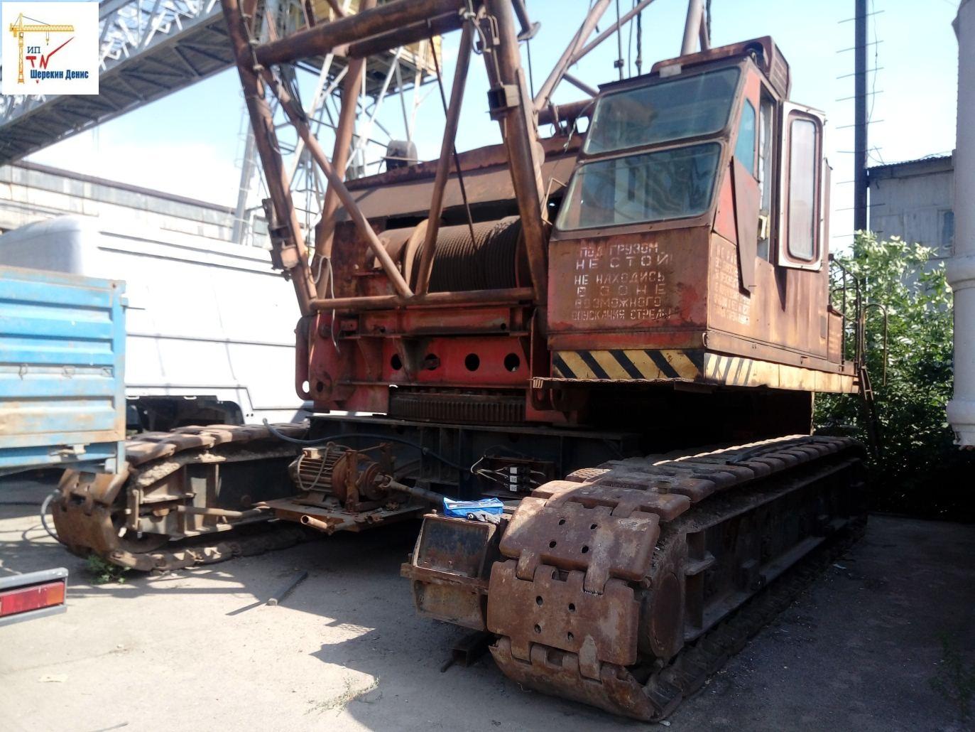 Кран гусеничный монтажный СКГ-63100