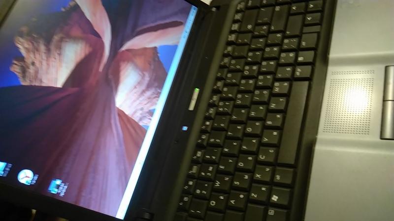 Ноутбук HP 550 1733 Mhz 1 Gb 60 hdd 14,1 dvd usb lan cr wi-fi  Отлично