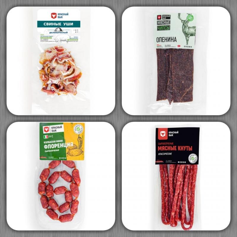 Мясные деликатесы, закуски, снеки